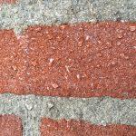 Pareleffect op stenen muren en gevels