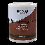 UV Beschermingslak Mat met uv blokker en i.c.m. brandvertragend coatingsysteem