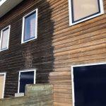 Kleur terughalen uit verweerd hout